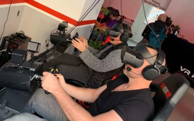 VR Racing vs gokart