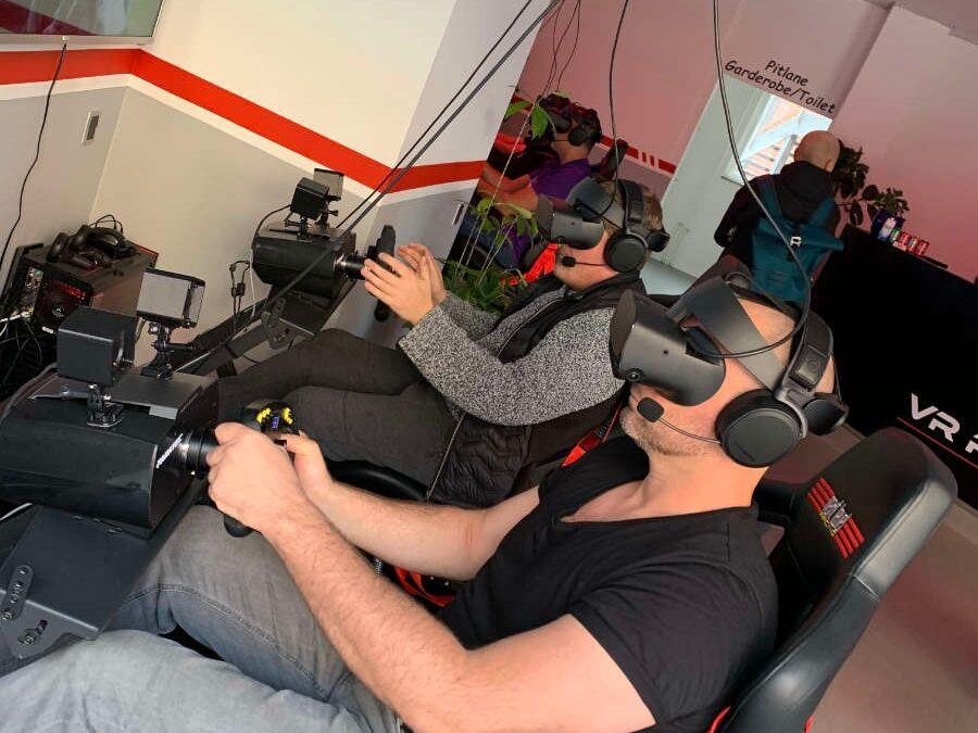 VR Racing vs gokart